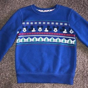 Mickey Mouse 3T Winter Sweater, New without Tags